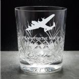 Lancaster Whisky Glass, PERSONALISED, ref LCWG